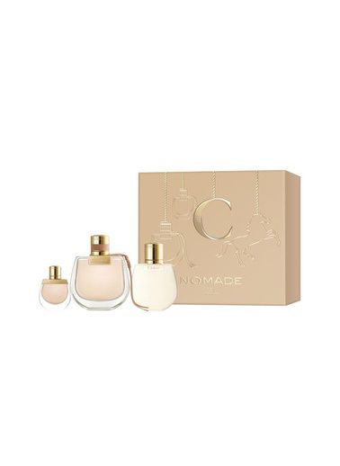 Chloe Nomade EDP 75 ml + EDP 4 ml + Vücut Losyonu 100 ml Kadın Parfüm Seti Renksiz